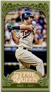 2012 Topps Gypsy Queen Mini Green Joe Mauer Baseball Card