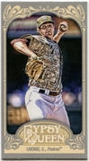 2012 Topps Gypsy Queen Mini Gypsy Queen Back Cory Luebke Baseball Card