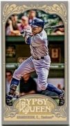 2012 Topps Gypsy Queen Mini Gypsy Queen Back Curtis Granderson Baseball Card