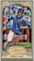 2012 Topps Gypsy Queen Mini Gypsy Queen Back Eric Hosmer Baseball Card