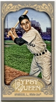 2012 Topps Gypsy Queen Mini Gypsy Queen Back Luis Aparicio Baseball Card