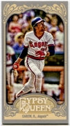 2012 Topps Gypsy Queen Mini Gypsy Queen Back Rod Carew Baseball Card