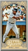 2012 Topps Gypsy Queen Mini Gypsy Queen Back Tony Gwynn Baseball Card