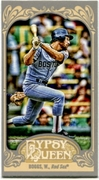 2012 Topps Gypsy Queen Mini Gypsy Queen Back Wade Boggs Baseball Card