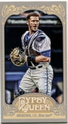 2012 Topps Gypsy Queen Mini J.P. Arencibia Baseball Card