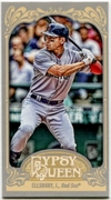 2012 Topps Gypsy Queen Mini Jacoby Ellsbury Variation Baseball Card