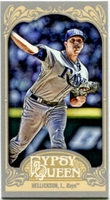 2012 Topps Gypsy Queen Mini Jeremy Hellickson Variation Baseball Card