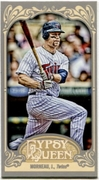 2012 Topps Gypsy Queen Mini Justin Morneau Baseball Card