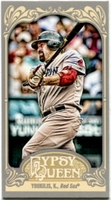 2012 Topps Gypsy Queen Mini Kevin Youkilis Baseball Card