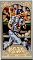 2012 Topps Gypsy Queen Mini Lance Berkman Variation Baseball Card