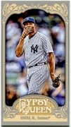 2012 Topps Gypsy Queen Mini Mariano Rivera Variation Baseball Card