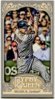 2012 Topps Gypsy Queen Mini Matt Holliday Baseball Card