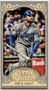 2012 Topps Gypsy Queen Mini Matt Kemp Baseball Card