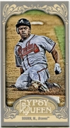 2012 Topps Gypsy Queen Mini Michael Bourn Baseball Card