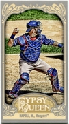 2012 Topps Gypsy Queen Mini Mike Napoli Variation Baseball Card