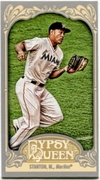 2012 Topps Gypsy Queen Mini Mike Stanton Variation Baseball Card