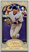 2012 Topps Gypsy Queen Mini Robinson Cano Variation Baseball Card