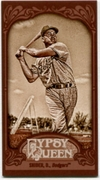 2012 Topps Gypsy Queen Mini Sepia Duke Snider Baseball Card