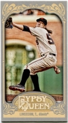 2012 Topps Gypsy Queen Mini Tim Lincecum Variation Baseball Card