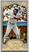 2012 Topps Gypsy Queen Mini Tony Gwynn Baseball Card