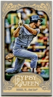 2012 Topps Gypsy Queen Mini Wade Boggs Variation Baseball Card