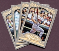 2012 Topps Gypsy Queen Minnesota Twins Baseball Cards Team Set