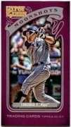 2012 Topps Gypsy Queen Moonshots Mini Evan Longoria Baseball Card