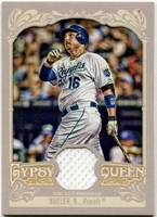 2012 Topps Gypsy Queen Relics Billy Butler Baseball Card