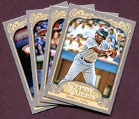 2012 Topps Gypsy Queen San Diego Padres Baseball Cards Team Set