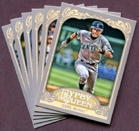 2012 Topps Gypsy Queen Seattle Mariners Baseball Cards Team Set