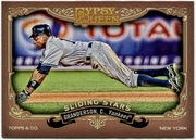 2012 Topps Gypsy Queen Sliding Stars Curtis Granderson Baseball Card