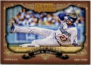 2012 Topps Gypsy Queen Sliding Stars Matt Kemp Baseball Card
