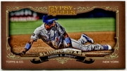 2012 Topps Gypsy Queen Sliding Stars Mini Dee Gordon Baseball Card
