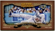 2012 Topps Gypsy Queen Sliding Stars Mini Matt Kemp Baseball Card