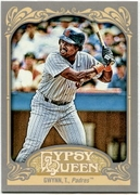 2012 Topps Gypsy Queen Tony Gwynn Short Print Variation Baseball Card