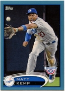2012 Topps Opening Day Blue Matt Kemp Baseball Card