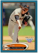 2012 Topps Opening Day Blue Tim Lincecum Baseball Card