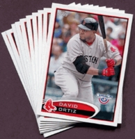 2012 Topps Opening Day Boston Red Sox Baseball Cards Team Set