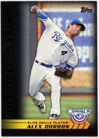 2012 Topps Opening Day Elite Skills Alex Gordon Baseball Card