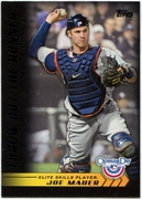 2012 Topps Opening Day Elite Skills Joe Mauer Baseball Card