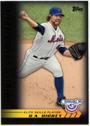 2012 Topps Opening Day Elite Skills R.A. Dickey Baseball Card