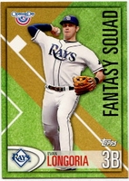2012 Topps Opening Day Fantasy Squad Evan Longoria Baseball Card
