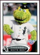 2012 Topps Opening Day Mascots Chicago White Sox Baseball Card