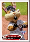 2012 Topps Opening Day Mascots Junction Jack Baseball Card