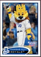 2012 Topps Opening Day Mascots Kansas City Royals Baseball Card