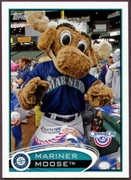2012 Topps Opening Day Mascots Mariner Moose Baseball Card