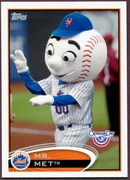 2012 Topps Opening Day Mascots Mr. Met Baseball Card