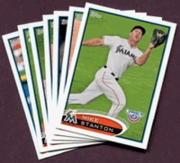 2012 Topps Opening Day Miami Marlins Baseball Cards Team Set