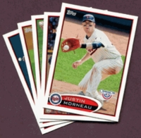 2012 Topps Opening Day Minnesota Twins Baseball Cards Team Set
