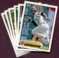 2012 Topps Opening Day Pittsburgh Pirates Baseball Cards Team Set